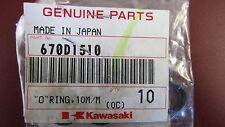 K1 GENUINE KAWASAKI O RING OEM 670D1510  (1 PIECE) (SEE FITMENT BELOW)