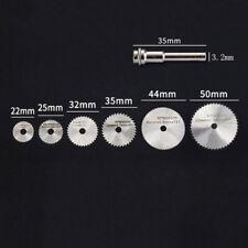 7pcs Wheel Cutting Blades 22-50mm HSS Saw Disc For Dremel Drills Rotary Tool Set