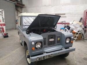 Land Rover 2.25 Diesel.