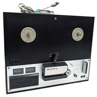 Vintage Sony Tapecorder Model TC-250A Reel to Reel Tape Recorder for repair only