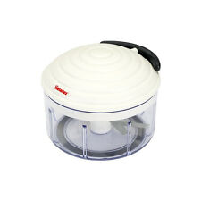 Metaltex Rotomac Herb and Vegetable Manual Chopper With Moveable Blades White