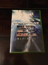 XBOX Dead or Alive 2 Ultimate *****CASE , BOOKLET AND ZACK'S MOVE LIST ONLY*****