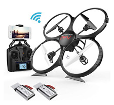 Drone Dbpower U818A Quadcopter Upgrade Fpv Wifi Drones With Camera For Beginners