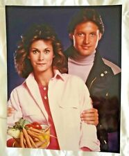 SEX SYMBOLS KATE JACKSON & BOXLEITNER IN SCARECROW & MRS KING CBS 80s TV PHOTO