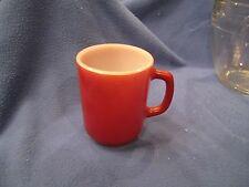 Vintage Anchor Hocking Oven Proof Coffee mug Cup Orange