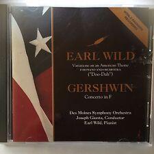 Gershwin Concerto in F, Wild Doo-Dah Variations- Earl Wild, Piano -  Chesky CD98
