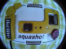 "ikelite aquashot disposable camera underwater housing case 6"" x 4"" x 2"" plastic"