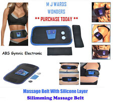 ORIGINAL ABS Gymnic Electronic Body Massager Belt Quad Muscle Tummy Toning Waist