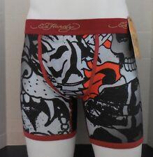 Ed Hardy Men's Fierce Tiger Collage Premium Boxer Brief Size S New