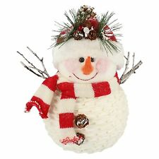 16841 Deco snowman Christmas decoration BY straits £7.99