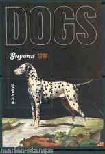 GUYANA NEW ISSUE DOG  DALMATION  S/S  never before offered by us  MINT NH