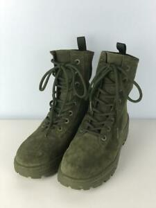 Yeezy Season6 Thick Suede Combat 42 Grn Km5015.065 Green Size 42 Boots