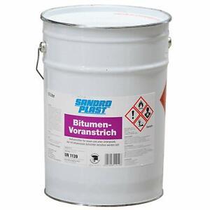 GP.3,60€/L) 10L Bitumen Voranstrich Bitumengrundierung Schwarzanstrich Haftgrund