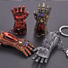 Marvel Avengers Endgame Iron Man Infinity Gauntlet Alloy Key Chains Keychain 7cm
