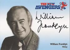 """The New Avengers - N-A5 William Franklyn """"McKay"""" Autograph Card"""