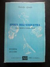 STORIA DELL'AERONAUTICA DALLE ORIGINI...R.GENTILE-ALI NUOVE 1958- B4