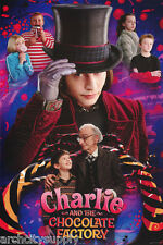 POSTER:MOVIE REPRO: CHARLIE & THE CHOCOLATE FACTORY - FREE SHIP #8159 RAP101 C