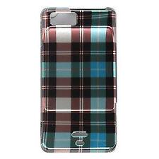 Blue Checker Hard Case Phone Cover Motorola Droid X2