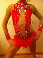 2018 new style Girl Rhythmic Gymnastics Leotards Ice Figure Skating Dress 91005
