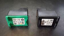 EMPTY HP 337 343 Genuine Original Ink Cartridges Black & Tri Colour Grade B