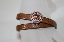 Handgefertigte Modeschmuck-Armbänder im Armreif-Stil aus gemischten Metallen