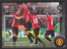 Topps Now - Premier League 2016/17 - 004 Z Ibrahimovic - Manchester United /225
