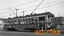 #B-264 - trolley LARy Los Angeles Railway #2601 in 1944 ORIGINAL B&W Negative