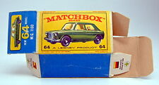 "Matchbox RW 64B MG 1100 leere originale ""E2"" Box"