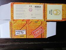 BOITE VIDE NOREV  CITROEN 2CV AZ 1952 EMPTY BOX CAJA VACCIA