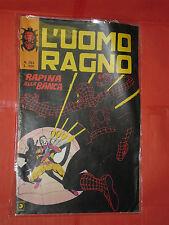 UOMO RAGNO spiderman -N° 283-ULTIMO -SERIE 1°- DEL 1977 -CORNO- usato NO PANINI