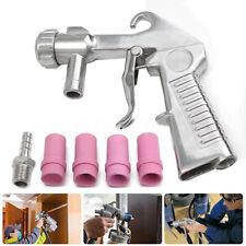 Sandblaster Feed Blast Gun Air Siphon Sand Blasting Abrasive Tool Ceramic Nozzle