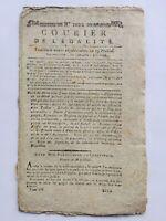 Révolte de Prairial 1795 Paris Faubourg Saint Antoine Toulon Bâle Escudier