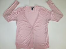 Womens GAP Pink Long Sleeve Button Down Cardigan Shirt Size S Small EXCELLENT