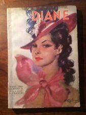 DIANE N°5 MARS 1938 ill Jean-Gabriel DOMERGUE/MORGAN/HOTCHKISS