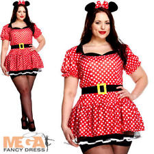 Sexy Mouse UK 16-18 Ladies Fancy Dress Animal Character Womens Adults Costume