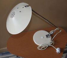 Rare lampe de bureau orientable  beige  années 70 seventies