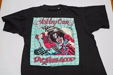Motley Crue Official Vintage Dr. Feelgood T-shirt 1989 Medium