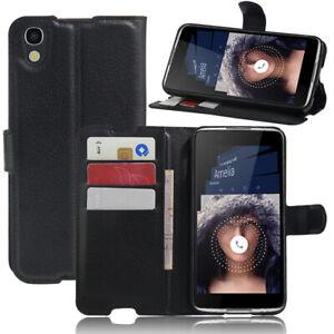 Alcatel IDOL4/DTEK50 Flip Wallet Slot Case/Cover/Card Holder Kickstand Pouch