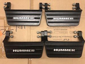 HUMMER H2 ASSIST STEPS REMOVABLE LIMITED EDITION STEPS