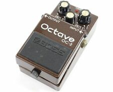 Boss OC-2 Octave Guitar Effect Pedal With Tracking Number F/S