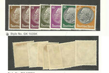 Germany, Postage Stamp, #401//414 (7 Different) Mint Hinged, 1933