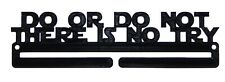 Star Wars Race Medal Display Rack Holder Hanger Do Or Do Not There Is No Try