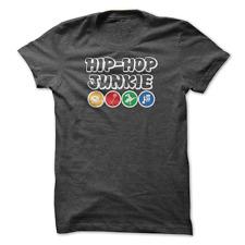 Mens tshirt Hip Hop Junkie Four Elements music