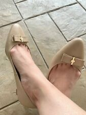 Authentic Cole Haan pointy toe nude shoes
