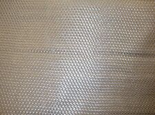 """Vinyl Upholstery Faux Leather Fabric Basket Weave Tile /Metallic Silver 54"""" Wide"""