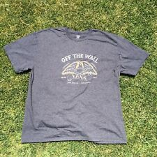 Vans Off The Wall Shoe Brand Mens Size 2X Large XXL T-Shirt Tee Shirt skateboard