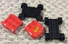 Mega Bloks CARS Rusty Rust-eze Disney Pixar Frame 2 Cars Wheel Bodies 95 Decals