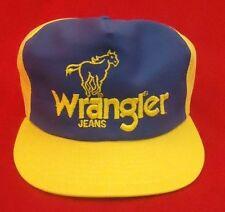 VINTAGE WRANGLER Jeans Trucker Mesh Dale Earnhardt Sr NASCAR TEAM Hat Cap