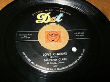 SANFORD CLARK - LOVE CHARMS - LOU BE DOO  / LISTEN - MOD ROCK POPCORN