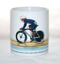 Cycling Mug. Laura Trott, Omnium, Rio 2016 Olympics